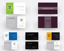 商务名片创意设计矢量素材