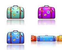 箱包手提包主题设计矢量素材