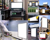 商业广告牌展示摄影高清图片