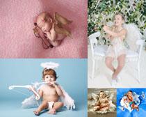 天使儿童拍摄高清图片