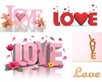 LOVE字母拍摄高清图片