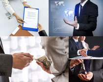 成功的商务男子摄影高清图片