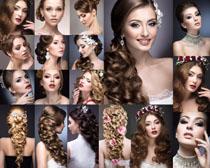 时尚女人发型展示高清图片
