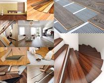 家居裝修木板攝影高清圖片