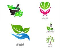環保主題LOGO設計矢量素材