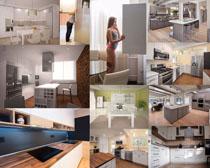 歐美廚房家居攝影高清圖片