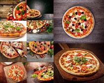 外国披萨美食拍摄高清图片