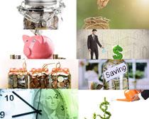金融理财摄影高清图片