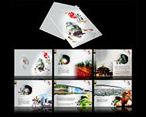 沈阳旅游宣传画册设计PSD素材