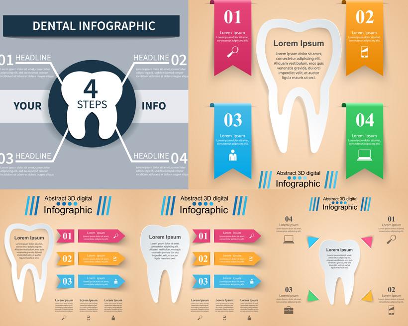 信息图形创意设计矢量素材
