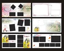 相册画册模板矢量素材