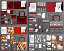 创意企业识别元素矢量素材集