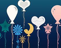 各种形状气球笔刷