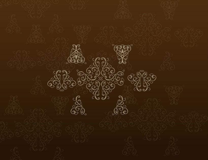 古典欧式花纹ps笔刷素材