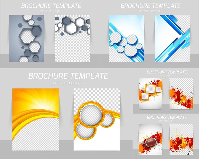 创意几何图案背景设计矢量素材