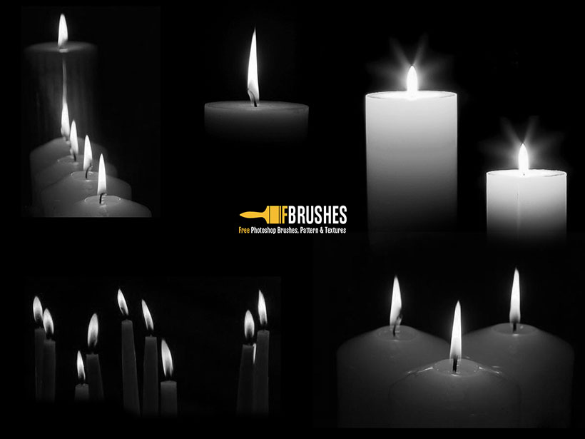 蠟燭筆刷ps素材 - 愛圖網設計圖片素材下載