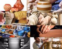 陶瓷藝術攝影高清圖片