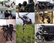 軍事戰斗武器攝影高清圖片