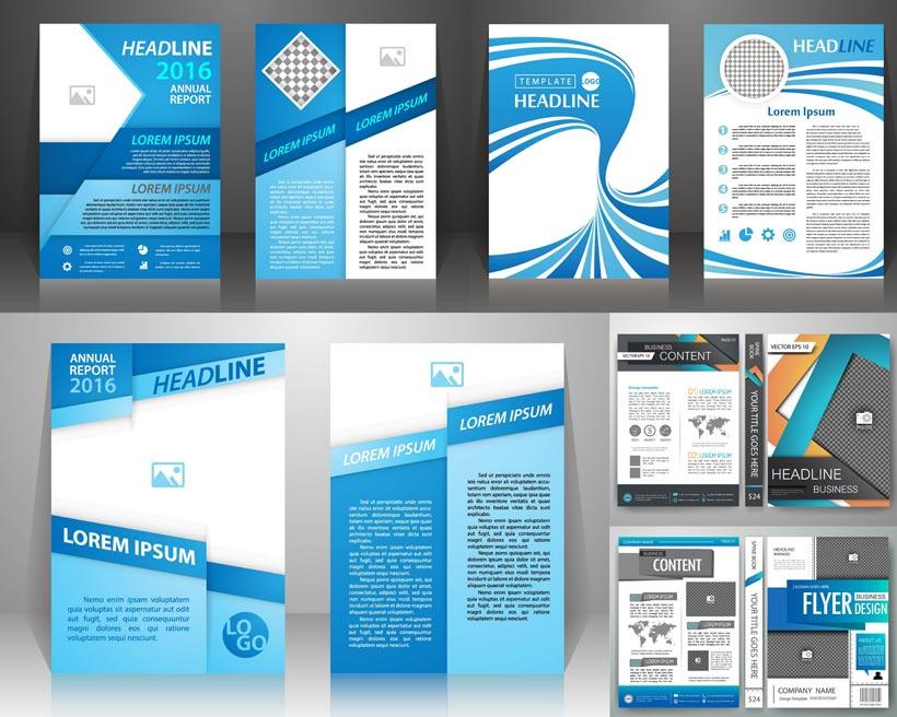 视觉设计封面设计矢量素材