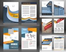 广告单页创意设计矢量素材