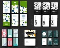画册页面创意设计矢量素材