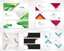 Banner创意设计矢量素材