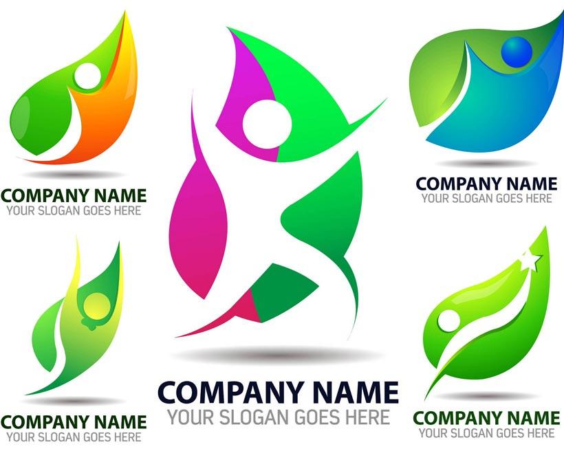 企业形象logo设计矢量素材