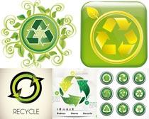 绿色环保节能元素设计矢量素材