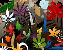 植物叶子PS笔刷素材