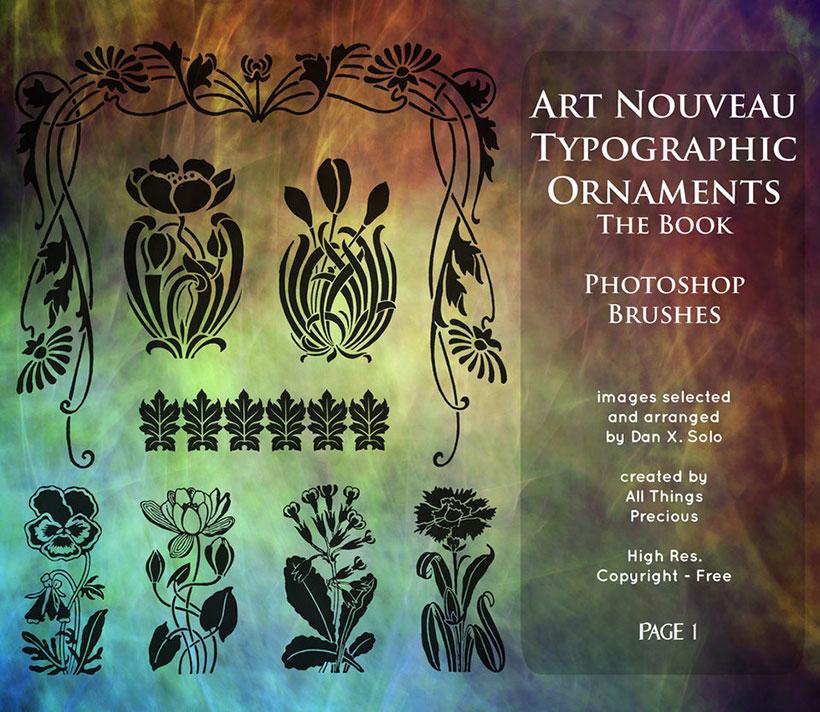 爱图首页 ps素材 ps笔刷 花纹笔刷 欧式花纹笔刷 花藤笔刷 蝙蝠美女