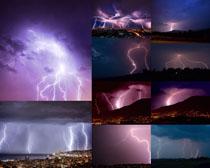 天空闪电摄影高清图片