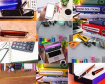 办公商务工具摄影高清图片