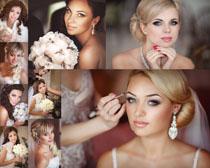 外国新娘美容摄影高清图片