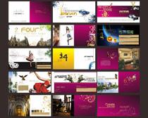城市宣传画册设计模板矢量素材