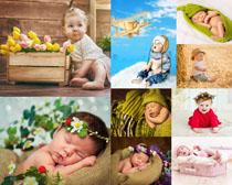 可爱宝宝艺术写真摄影高清图片