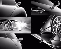 豪华车线条摄影高清图片