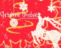 圣诞驯鹿笔刷