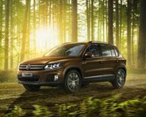 大众途观汽车森林篇广告PSD素材