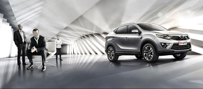 银灰色车体45度车头室内汽车广告汽车海报海报设计广告设计模板psd