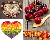 水果拼图摄影高清图片
