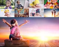 可爱的梦想儿童摄影高清图片