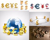 货币符号摄影高清图片