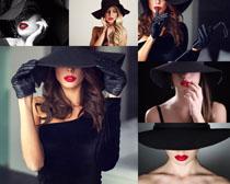 口红气质美女摄影高清图片