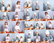 小小厨师摄影高清图片