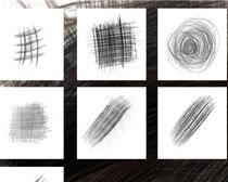 铅笔涂鸦线条笔刷