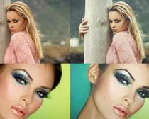增强肤色质感效果PSD图层