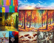 艺术油画摄影高清图片