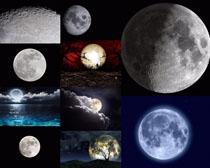 夜色月光风景摄影高清图片