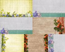 花朵边框背景摄影高清图片