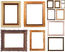 实木装饰边框摄影高清图片